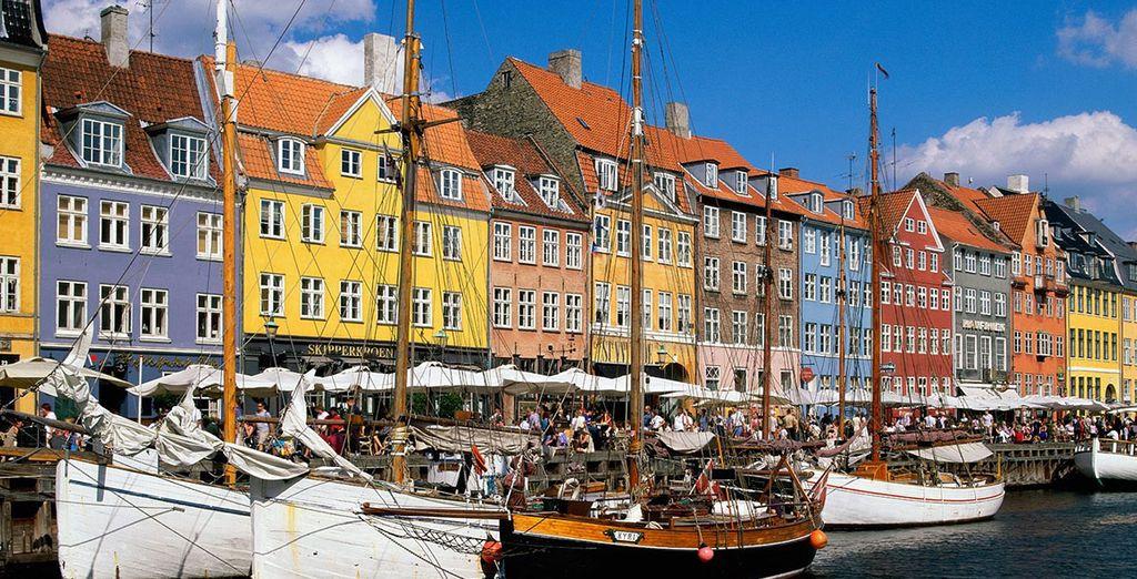 Y por último saluda a la bella Copenhague