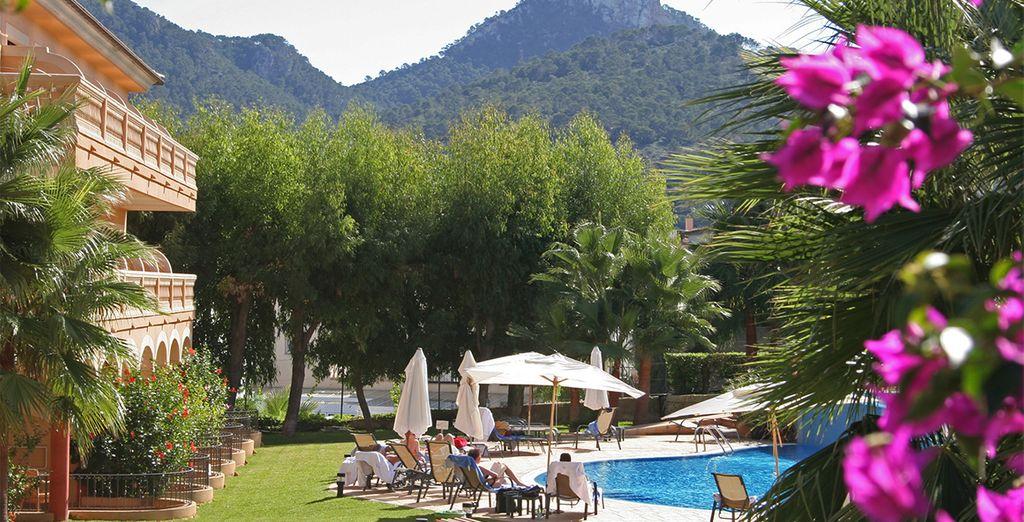 El hotel se encuentra rodeado de naturaleza