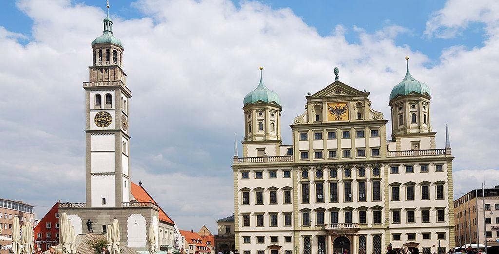 Conocerás también la íncreíble Augsburgo