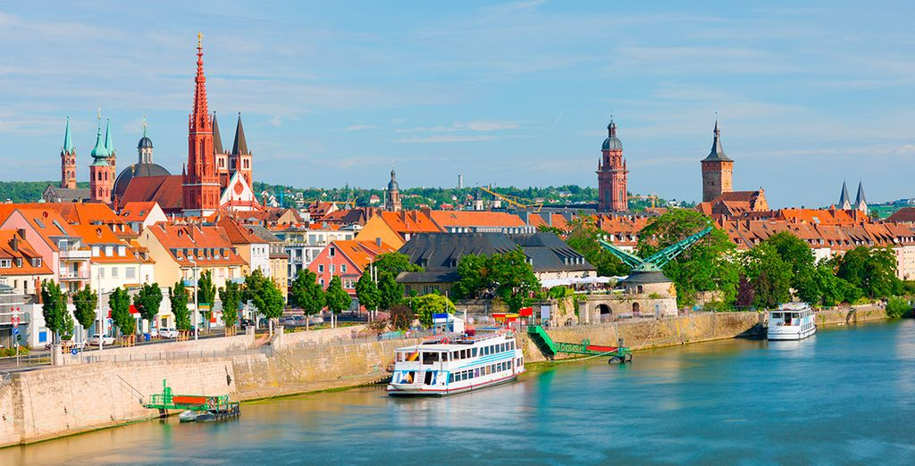 Pasarás tu primera noche en Würzburg