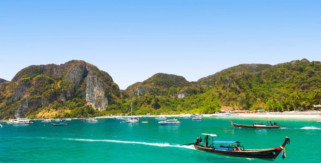 Tendrás la opción de visitar las Islas Phi Phi