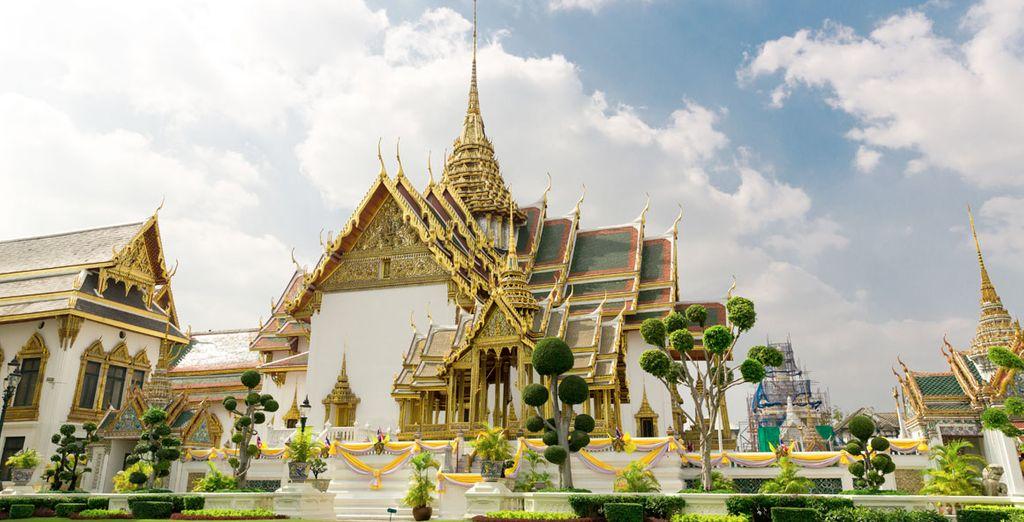Y el Templo Wat Po, el más extenso de Bangkok