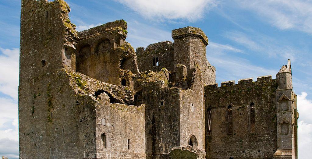 ... Fortaleza anterior de la invasión normanda