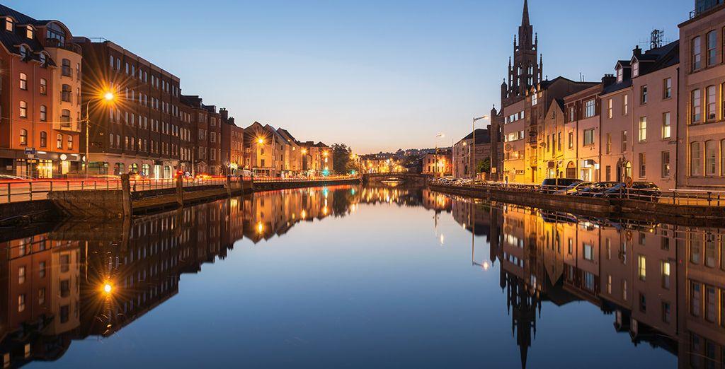 Por la tarde llegaréis a la ciudad de Cork