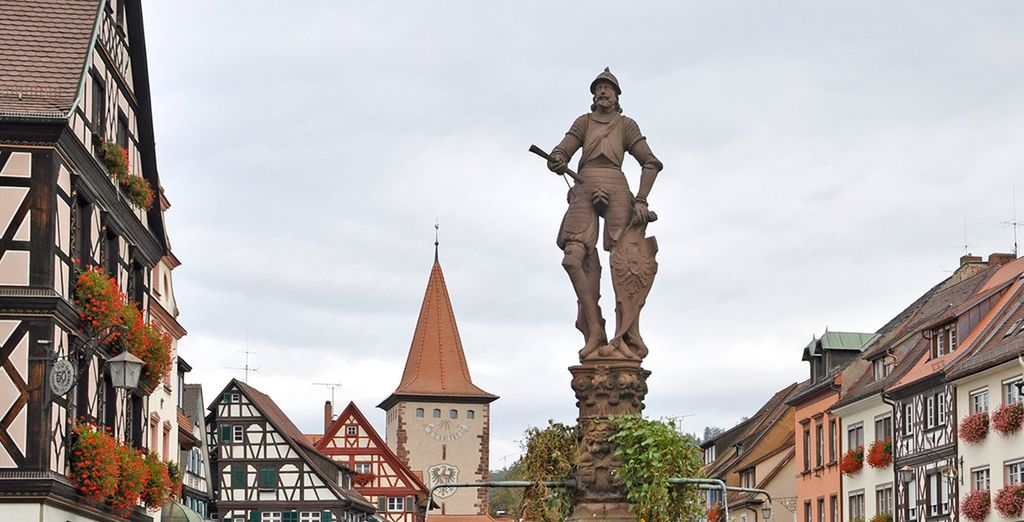 Gengenbach, con un centro histórico anclado en el pasado