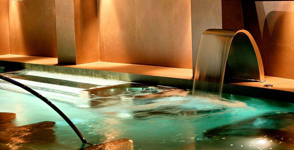 Relájate en el magnífico Centro Wellness del hotel