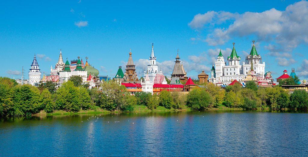 Ubicado en uno de los más bellos lugares de Moscú