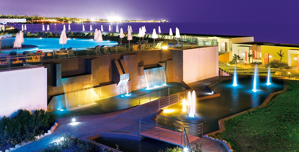 La arquitectura gira alrededor del agua