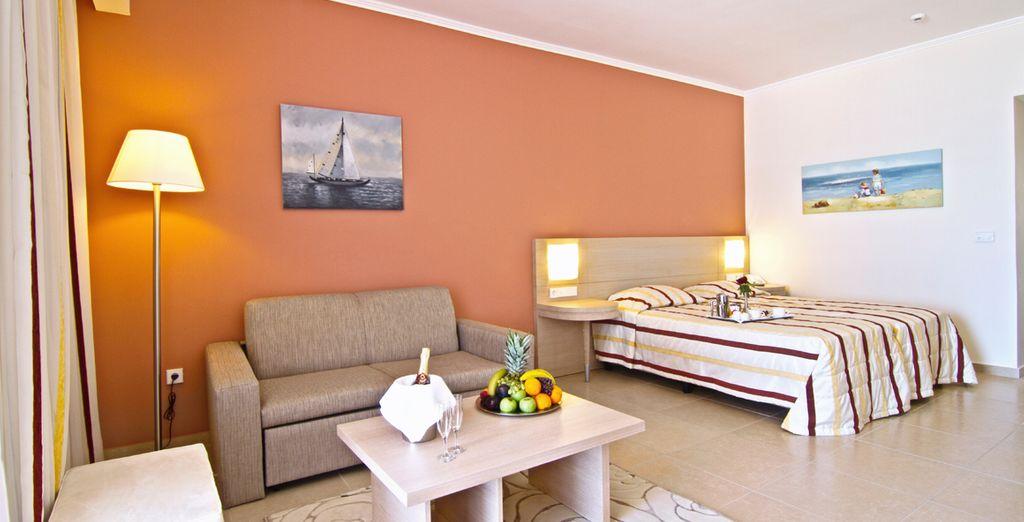 O bien una habitación Superior con vistas al mar