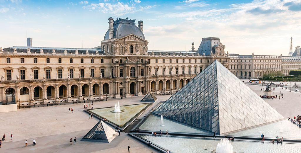 El conocido Museo del Louvre
