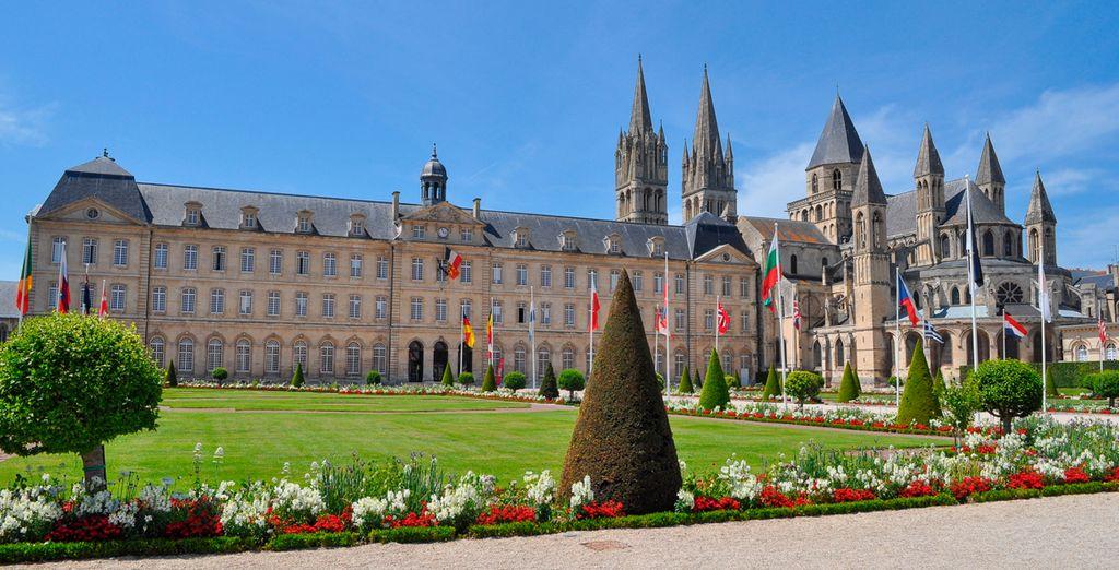 Caen, punto de partida para conocer la turbulenta historia de Normandía