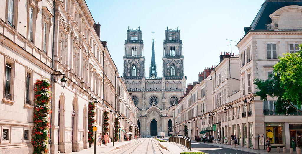Orléans, empieza tu visita