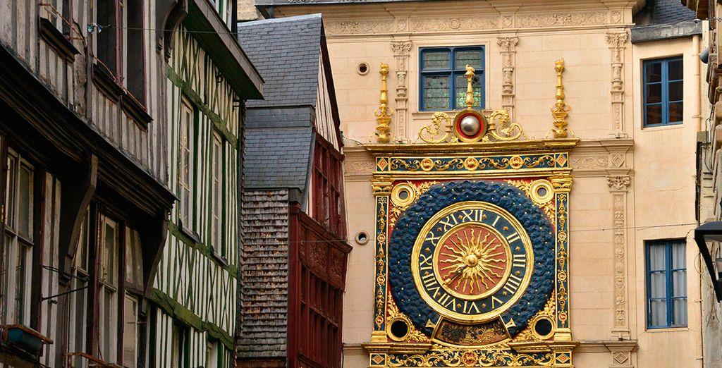 Rouen, una ciudad espléndida conocida como la