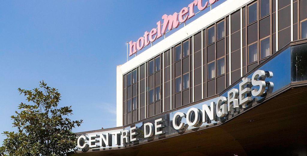 Te alojarás en el Mercure Angers Centre 4*