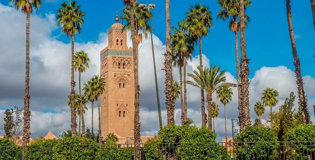 Descubre todos los rincones de Marrakech
