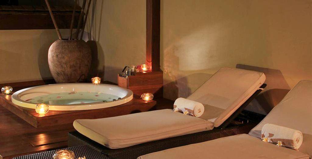 Entra en su spa y benefíciate de sus tratamientos de bienestar
