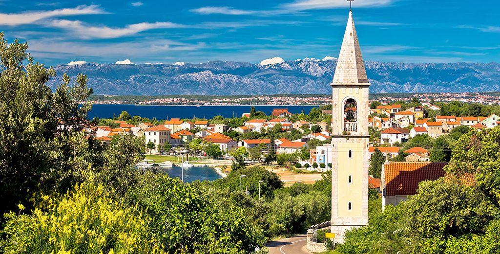 Zadar, una ciudad costera con más de 3000 años de historia