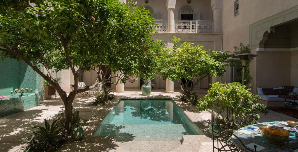 Un oasis de paz y relajación en el corazón de Marrakech