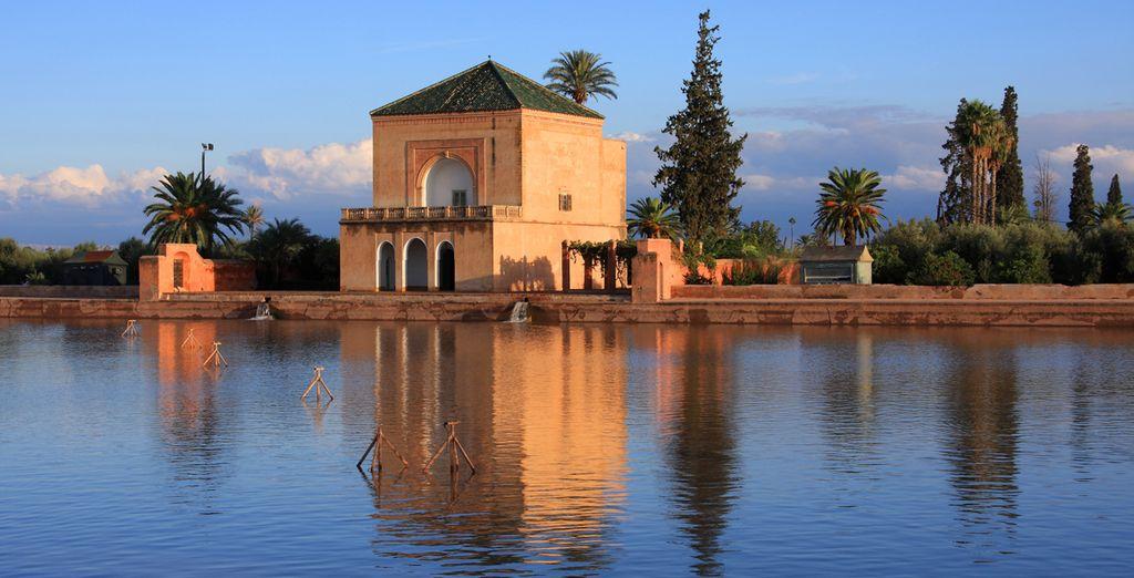 Marrakech es una ciudad única y completamente diferente al resto
