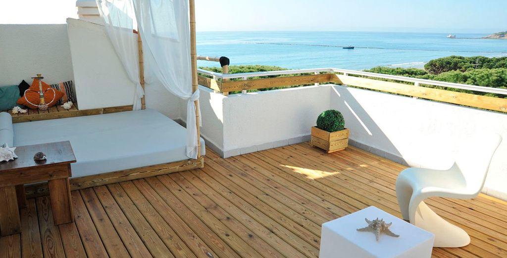 Relax y descanso en la Costa Dorada en el Boutique Hotel Terramarina Beach Club 4*