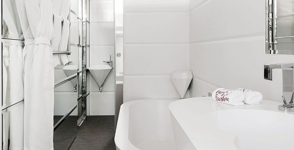 Dos dormitorios con baños privados