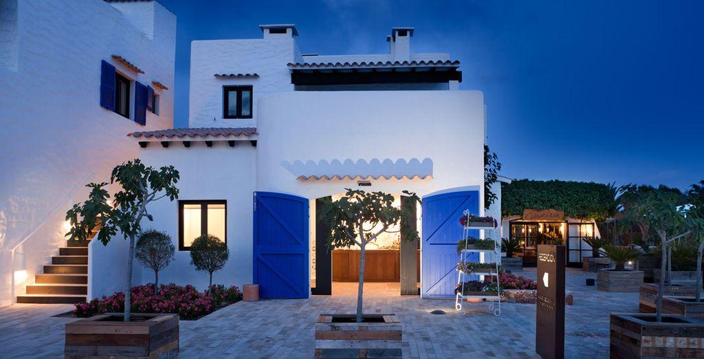 Un encantador complejo en la bella isla de Formentera
