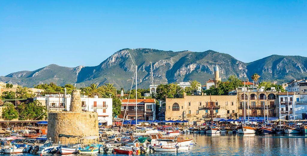 Seguiremos hacia el romántico puerto de Girne