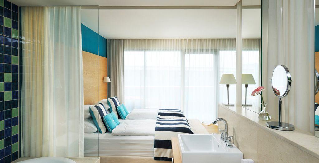 Una preciosa y confortable habitación Deluxe