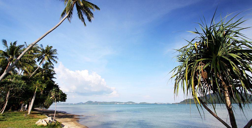 Vistas increíbles a las playas