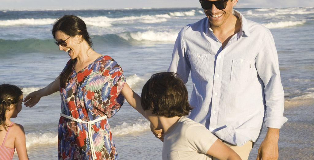 Disfruta de este lugar y sus fantásticas playas con toda la familia...