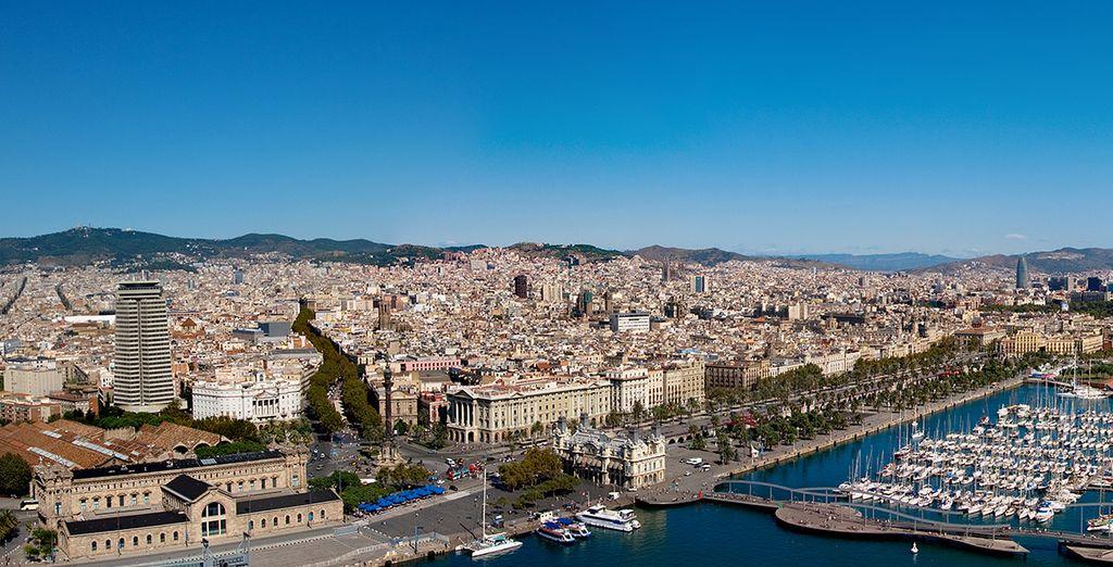 Acércate al Mediterráneo en un agradable paseo por Las Ramblas