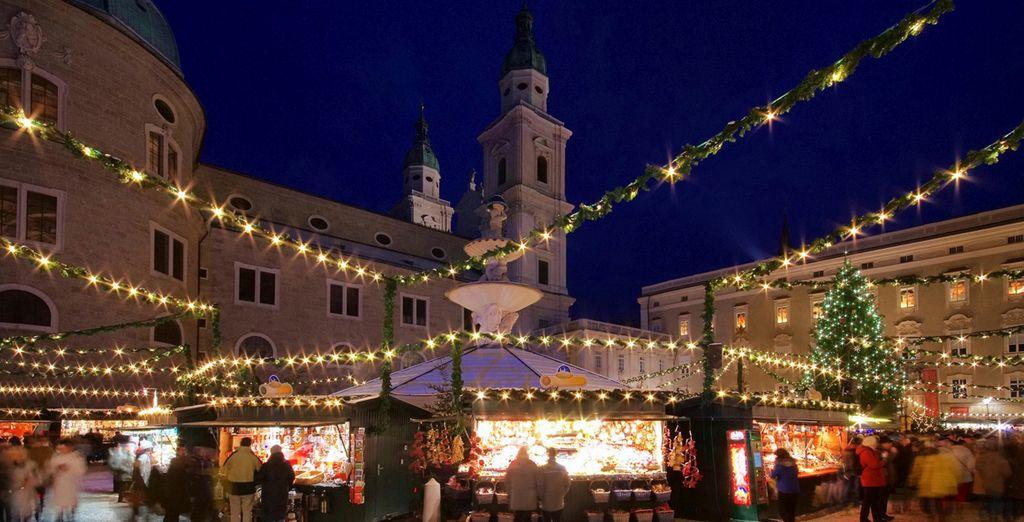 Disfruta del mercado navideño situado en la plaza de la Catedral