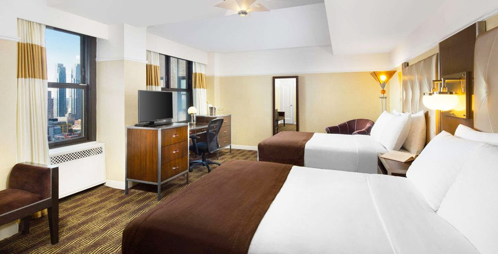 Descansa en tu habitación Estándar con 2 camas