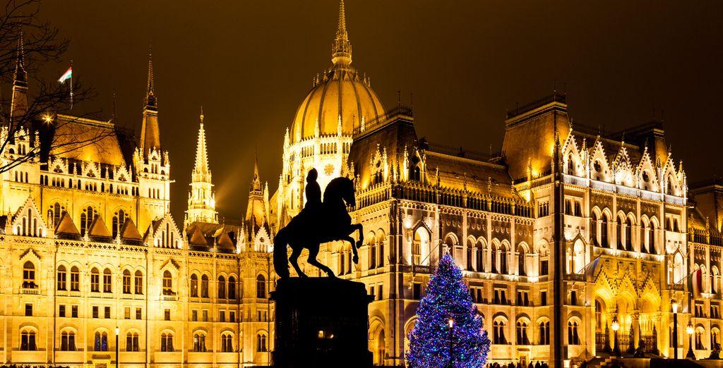 Ven a viisitar Budapest en Navidad