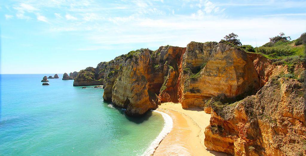 Las playas del Algarve te dejarán encantado