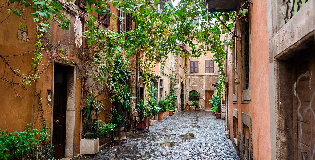 Disfruta del pintoresco barrio de Trastevere