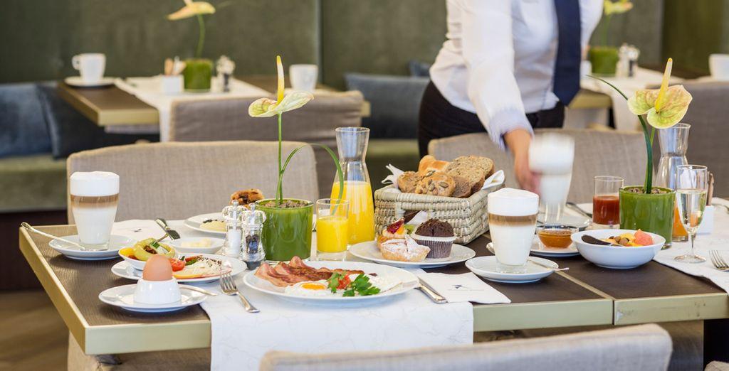 Empieza el día con un buen desayuno