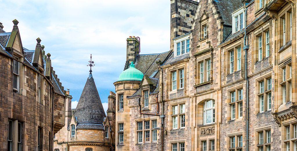 Y de vuelta a Edimburgo, desde donde regresarás a España