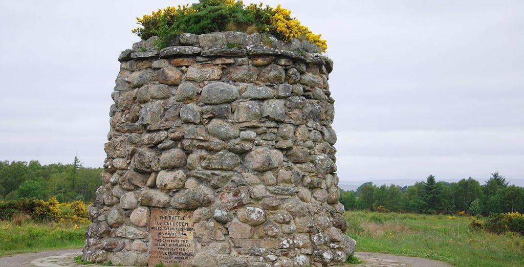 ... y su monumento conmemorativo