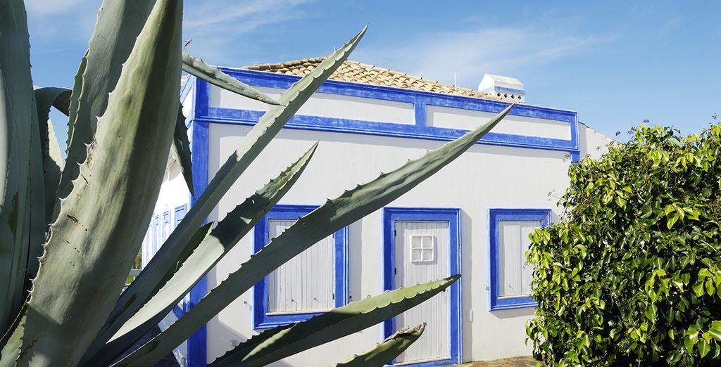 Las casitas típicas de Portimão te enamorarán