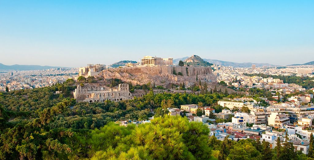 La Acrópolis, reflejo de la antigua Grecia