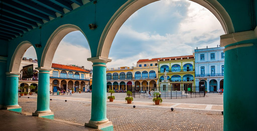 Una experiencia que comienza en la colorida La Habana