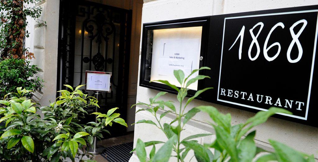 El exquisito restaurante del hotel