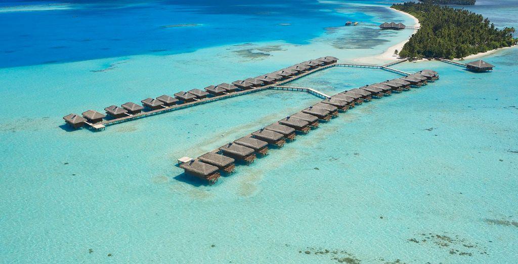 Vistas panorámicas del resort
