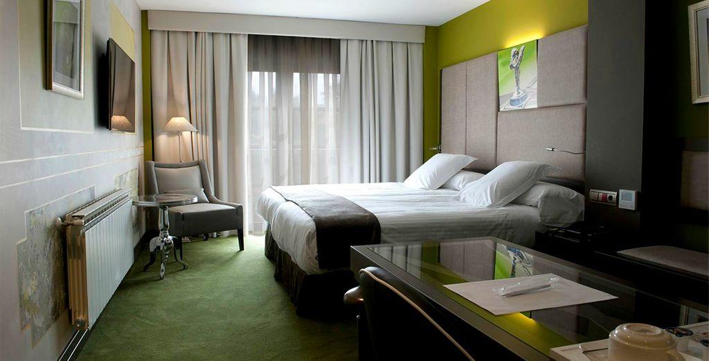 O una confortable habitación Doble