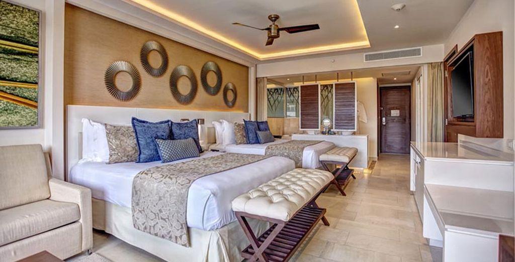 Disfruta de tu Luxury Junior Suite