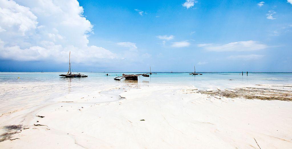 La costa de Kenia es simplemente maravillosa