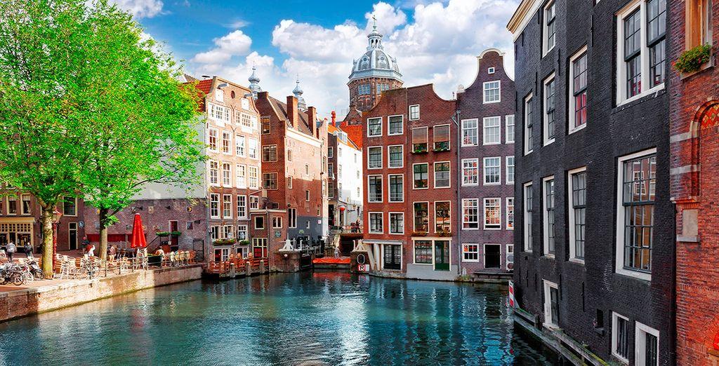 Vuelo más hotel Ámsterdam