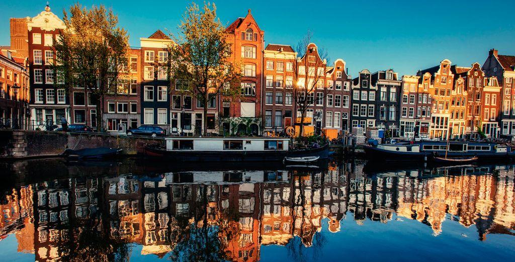 Disfruta de tu lujosa escapada a Ámsterdam