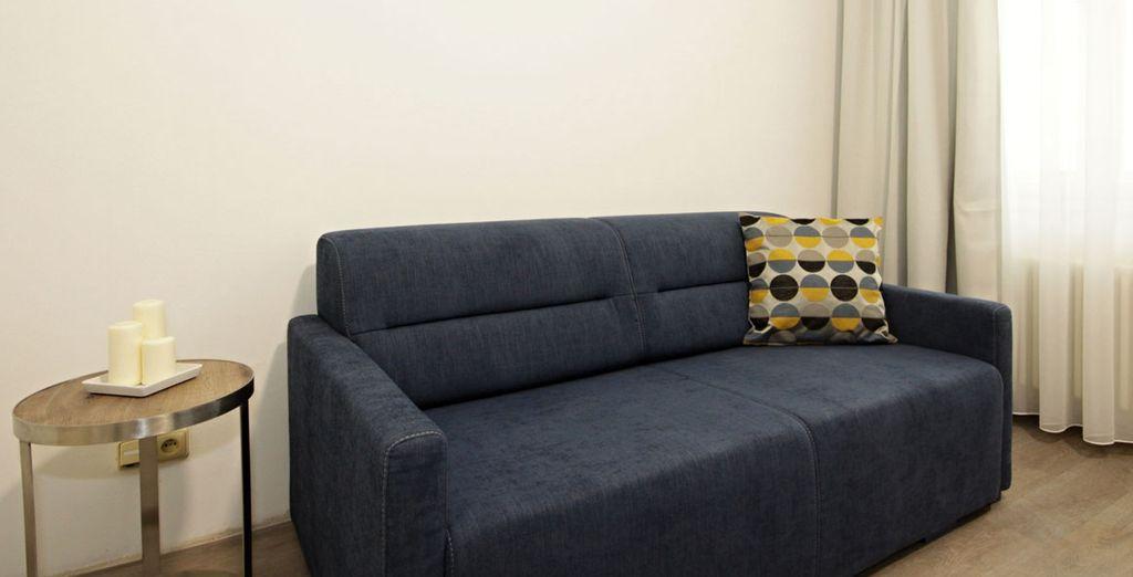 Suites diseñadas para tu descanso